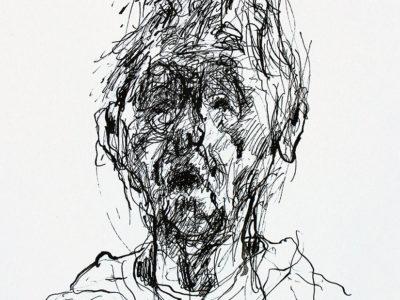Zelfportret Ingeborg Oderwald 25 mei 2018